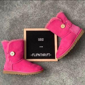 🎉2xHP🎉 🌟EUC UGG Pink Short Boots